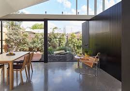 House Courtyard Tunnel House A Connecting Passage Brings Natural Light Into A