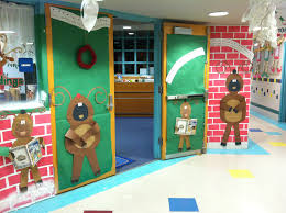 mr first grade christmas door contest