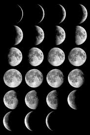 phases of the moon and percent of the moon illuminated