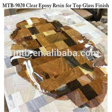 epoxy table top resin high glossy effect epoxy resin on wood table top view good