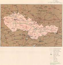 Eastern Europe Physical Map by
