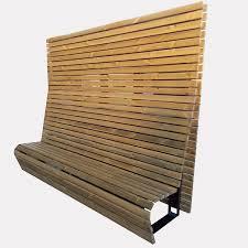 panchine legno panchina agata con legno di pino fly srl