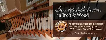 buy stair parts iron balusters newel posts treads