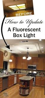 Fluorescent Kitchen Lights Ceiling Turning White Appliances Into Stainless Steel For 25 Black