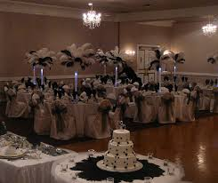 black and white wedding centerpieces the wedding specialiststhe