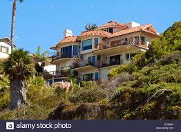beach houses laguna beach california usa stock photos u0026 beach