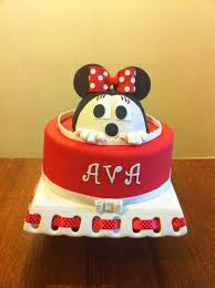 94 best minnie mouse cakes images on pinterest cake decorating