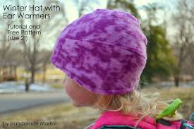 martini winter handmade martini tutorial and pattern winter hat with earwarmers