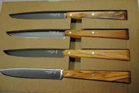 couteau opinel cuisine coffret de 4 couteaux office opinel acidule