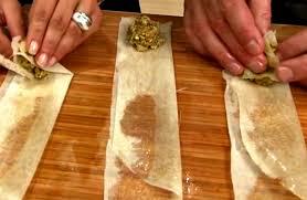 cuisine marocaine brick met de la viande hachée dans une feuille de pâte sa recette