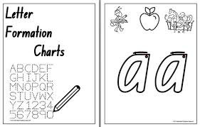 letter formation nsw nzprint charts 1