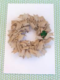 easy to make burlap wreath hgtv