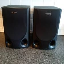 Bookshelf Speaker Sale Find More Sony Speaker System Ss H550 80 Watt 6 Ohm Black