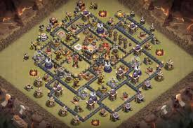 Coc Maps 7 Th8 5 Th9 5 Th10 5 War Base Designs 2017