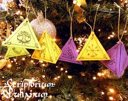 yule decorations etsy