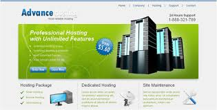 50 best hosting html website templates 2017