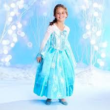 Elsa Costume Amazon Com Disney Store Frozen Deluxe Elsa Costume Dress Clothing