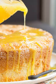 scratch made orange zest pound cake with orange curd call me pmc