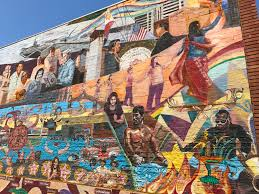 Chicano Park Murals Restoration by Murals Writing Is Thinking