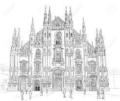 Milan Cathedral Floor Plan by Italian Gothic Stock Photos Royalty Free Italian Gothic Images