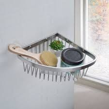 Bathroom Shower Shelves Stainless Steel by Compare Prices On Stainless Corner Shower Caddy Basket Online