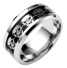 mens skull wedding rings skull rings shop cool skull rings at rebelsmarket