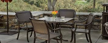 Cast Aluminum Furniture Manufacturers by Furniture Fill Your Patio With Mesmerizing Tropitone Furniture