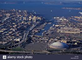 monster truck show tacoma dome aerial view of downtown tacoma washington with tacoma dome arena