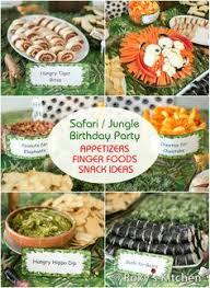 Safari Boy Baby Shower Ideas - safari jungle themed first birthday party dessert ideas