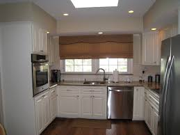 White Laminate Kitchen Cabinets U Shaped Kitchens Hgtv Regarding Kitchen Cabinets U Shaped
