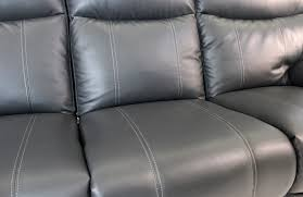 Grey Leather Reclining Sofa by Apollo Gray Power Reclining Sofa Mor Furniture For Less