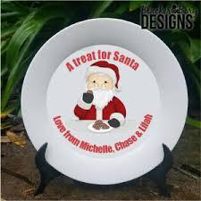 plates for santa