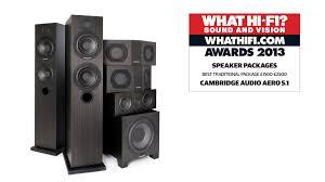 best home theater speaker package what hi fi awards 2013 aero 5 1 speaker system youtube