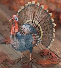 metal thanksgiving turkey decor gardenfun