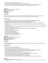 Resume For Online Job by Qa Team Lead Resume Contegri Com