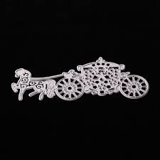 shop princess carriage cutting dies stencils art embossing