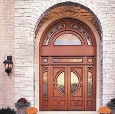antique solid wood exterior doors