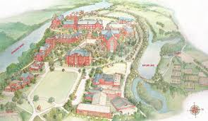 Notre Dame Campus Map Baylor High Image Gallery Hcpr