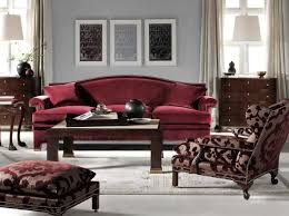 maroon and gray living room decorating ideas burgundy leather sofa