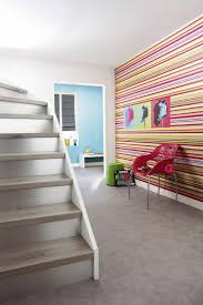 escalier peint en gris 4 astuces pour la décoration de votre couloir