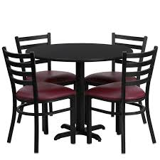 36 round cafe table cafe restaurant table chair set 36 round table 4 chairs