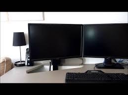 computer desk monitor lift monitor lift youtube