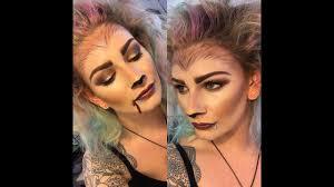 Halloween Werewolf Makeup Werewolf Makeup For Halloween Using Monave Minerals Youtube