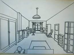 comment dessiner une chambre en perspective comment dessiner sa chambre gallery of perspective d pour la style