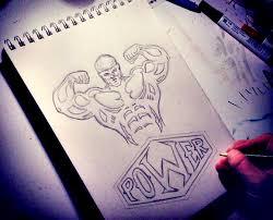 bodybuilding beast sketch by jw2011 on deviantart
