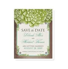 save the date online rustic succulent garden save the date cards online at artistically