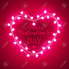 valentines lights s day background with bright lights royalty free
