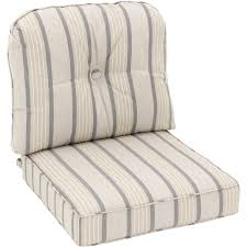 Sunbrella Rocking Chair Cushions Sunbrella Cove Pebble Medium Outdoor Replacement Club Chair