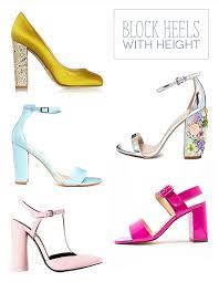 wedding shoes block heel summer wedding guest style shoe heaven onefabday