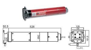 motori tende da sole 43345 001 motore tubolare aprimatic 92m 230 230nm per tapparelle e